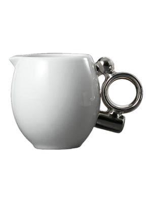 Geometrica Silver Creamer