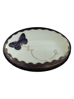 My Butterfly Oval Jewelry Box