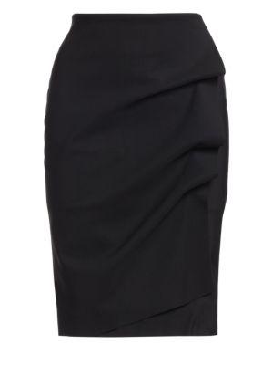 LA PETITE ROBE DI CHIARA BONI Andree Ruffled Pencil Skirt