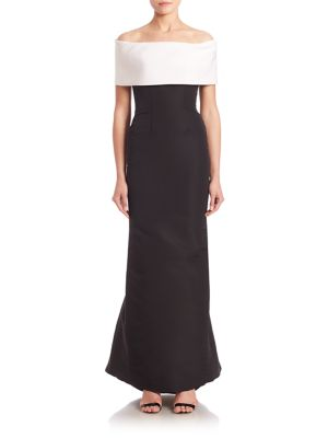 Off-The Shoulder Sheath Gown