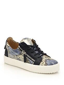 giuseppe zanotti sneakers snakes