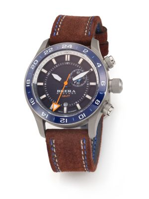Eterno GMT Stainless Steel Watch