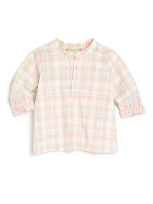 Babys Plaid Shirt