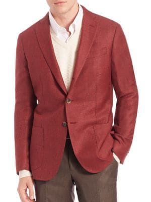 COLLECTION Wool & Silk Sportcoat