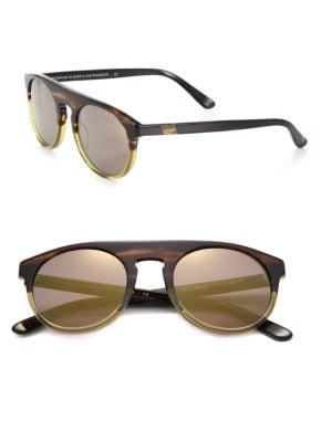 Atlas 11 50mm Round Sunglasses