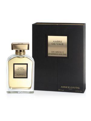 Ambre Sauvage Eau de Parfum/2.55 oz.