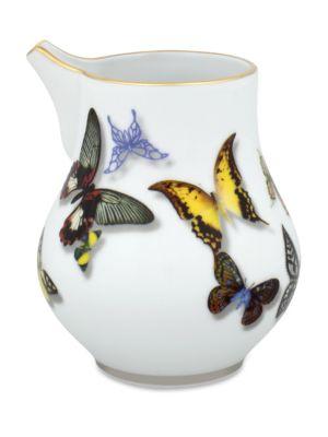 Butterfly Parade Milk Jug