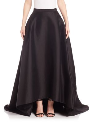 Hi-Lo Ball Gown Skirt