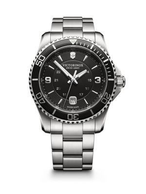 Maverick Stainless Steel Bracelet Watch
