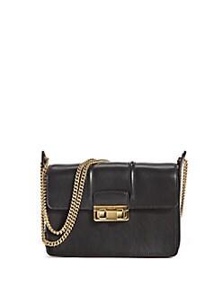 Lanvin - Jiji Mini Leather Chain Shoulder Bag