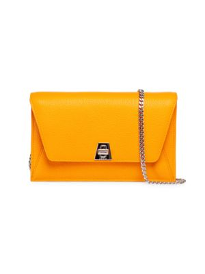 Mini Anouk Envelope Leather Crossbody Bag