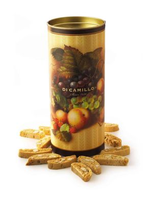 Traditional Biscotti-Filled Canister