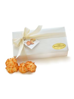 White Coconut Macaroon-Filled Box