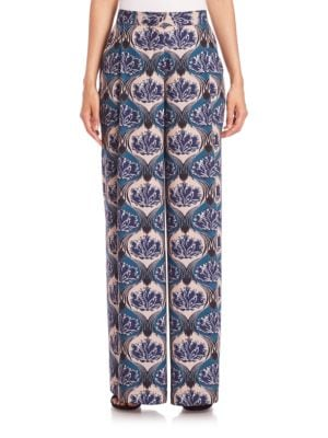 Printed Palazzo Pants plus size,  plus size fashion plus size appare