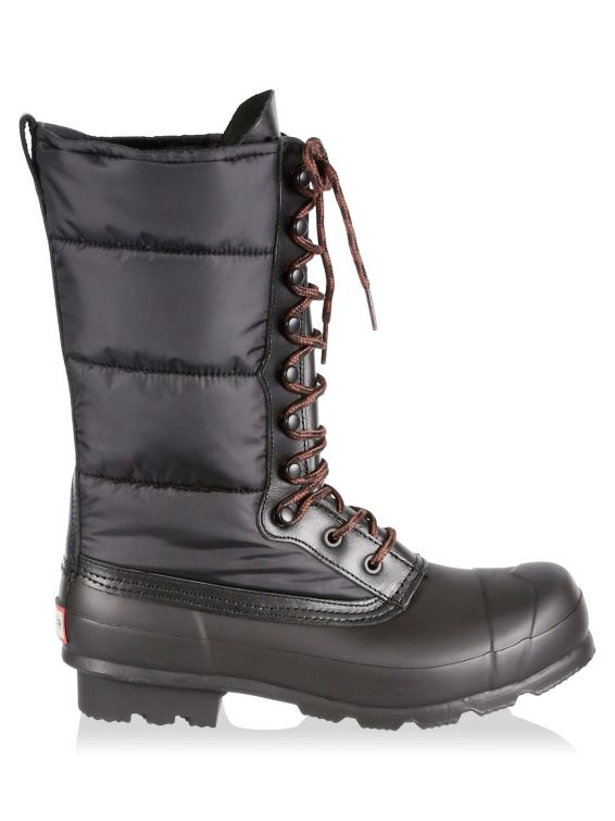 Hunter Original Quilted Nylon & Rubber Boots