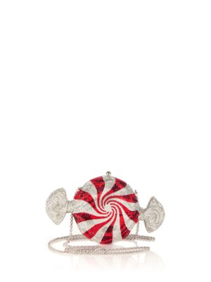 Peppermint Candy Crystal Clutch