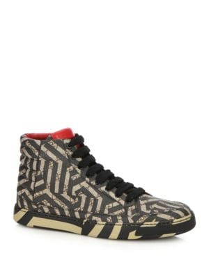 GG Caleido High-Top Sneakers