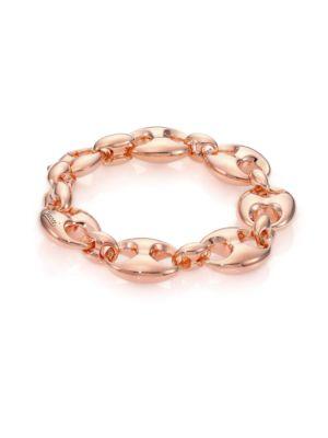 Marina Chain 18K Rose Gold Link Bracelet