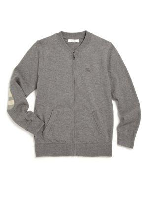 Little Boy's & Boy's Core Cotton Bomber Jacket