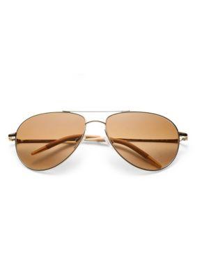 Benedict 16MM Aviator Sunglasses