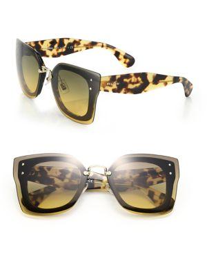Layered Pilot 67MM Sunglasses