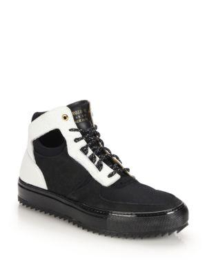 Delta Mid-Top Sneakers