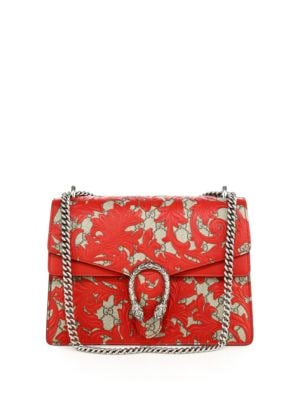 gucci female 250960 dionysus arabesque medium shoulder bag