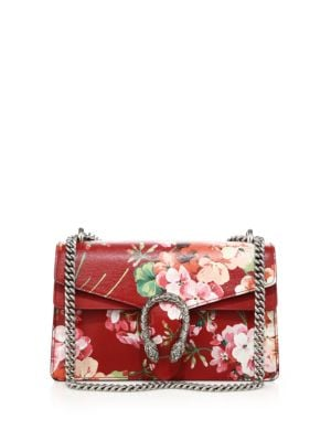 gucci female 123825 dionysus blooms small shoulder bag