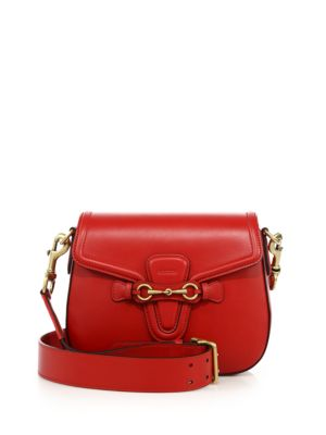 gucci female 250960 lady web medium leather shoulder bag