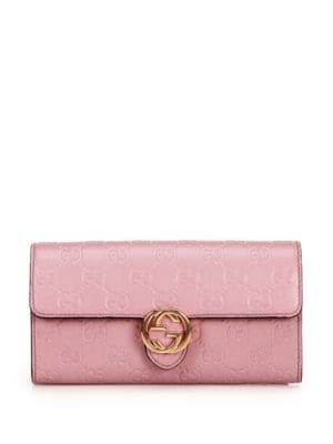 gucci female 198328 miss gg continental wallet
