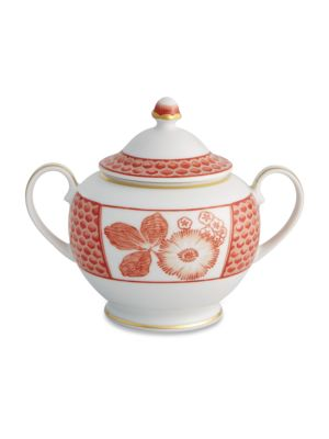 Coralina Porcelain Sugar Bowl