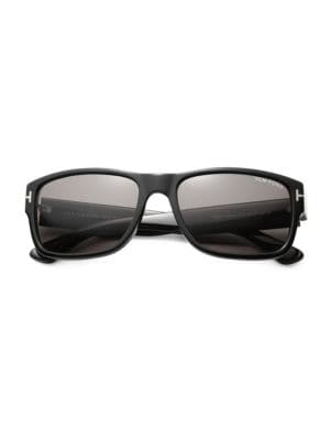 Mason 58MM Rectangular Sunglasses