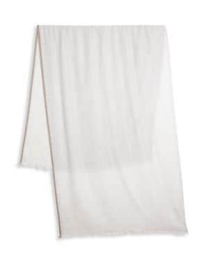 Cashmere Silk Solid Scarf