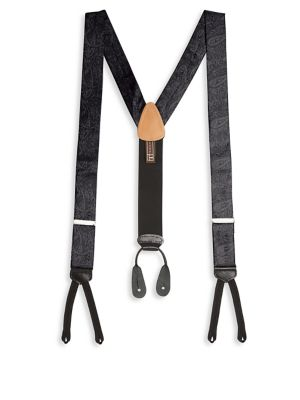 Formal Medford Paisley Silk Brace