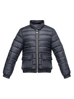 Moncler - Girl's Lans Lightweight Puffer Jacket