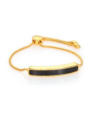 Baja Black Onyx Chain Bracelet