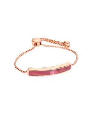 Baja Rhodonite Chain Bracelet