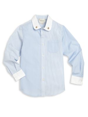 gucci boys little boys boys contrast buttonup