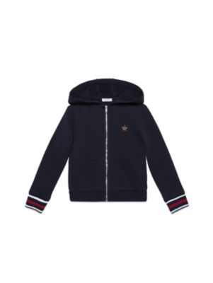 gucci boys little boys boys zipfront hoodie