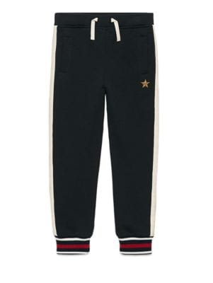 gucci boys little boys boys drawstring jogging pants