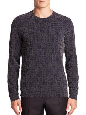 Static Print Sweater