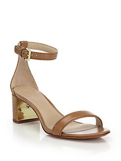 97ac7c8a6 Tory Burch Cecile Leather Mid-Heel Sandals