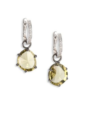 Annoushka Olive Quartz Earring Drops