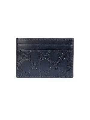 GG Leather Money Clip
