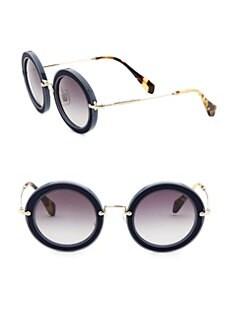 Miu Miu Sunglasses Round  sunglasses opticals for women saks com