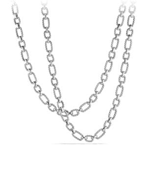 Chain Cushion Link Chain Necklace