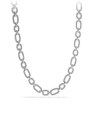 Cushion Link Chain Necklace