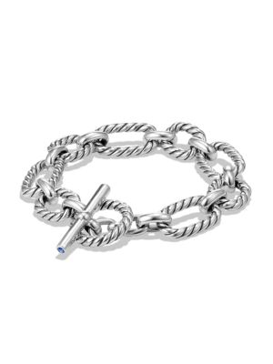 Cushion Link Chain Bracelet