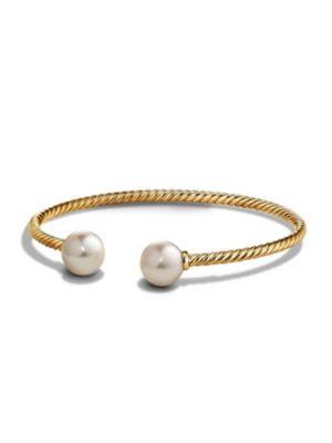 Bead Bracelet with Gemstone in 18K Gold