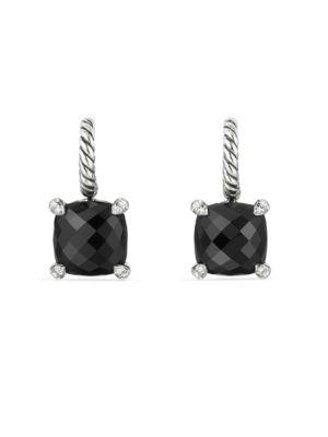 DAVID YURMAN Châtelaine Drop Earrings with Gemstone and Diamonds